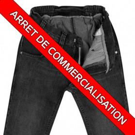 pantalons spécialement adapté fauteuil roulant sondage urinaire mamode lilial jean bleu