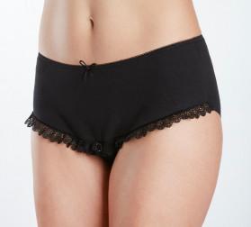 Culotte adaptée pour faciliter l'auto sondage incontinence benefactor