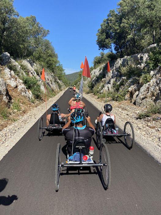 VCESQY team Voussert et sa section handisport handbike